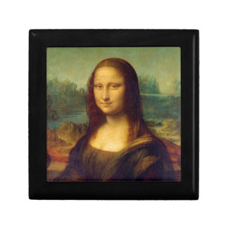 Mona Lisa by Leonardo da Vinci Keepsake Boxes