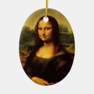 Mona Lisa by Leonardo Da Vinci Ornament