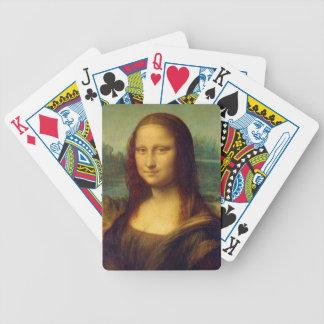 Mona Lisa by Leonardo da Vinci Poker Deck