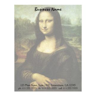 Mona Lisa by Leonardo da Vinci, Renaissance Art Letterhead