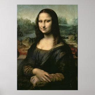 Mona Lisa, c.1503-6 Poster