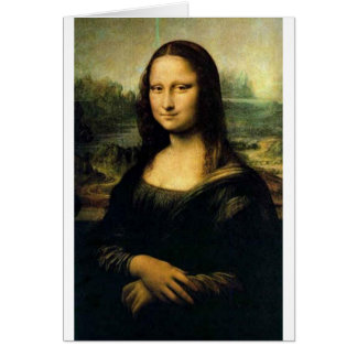 Mona Lisa Card