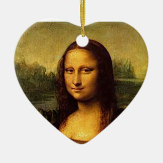 Mona Lisa Ceramic Ornament