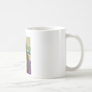 Mona Lisa Chef Classic White Coffee Mug