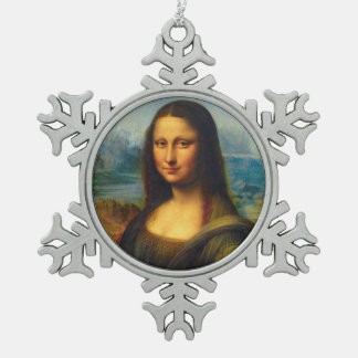Mona Lisa Christmas Ornament