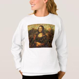 mona lisa collage - mona lisa mosaic - mona lisa sweatshirt
