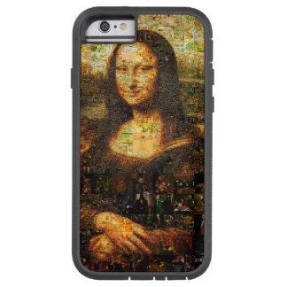 mona lisa collage - mona lisa mosaic - mona lisa tough xtreme iPhone 6 case