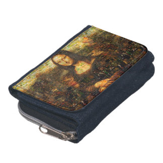 mona lisa collage - mona lisa mosaic - mona lisa wallet