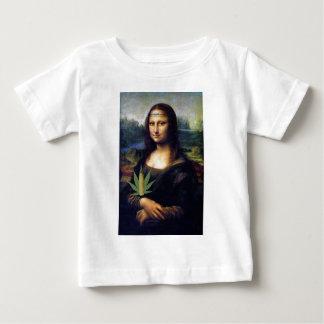 Mona Lisa cornnabis Baby T-Shirt
