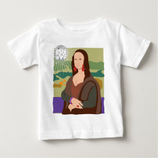 Mona Lisa Disco Lady Baby T-Shirt
