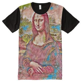 Mona Lisa Fantasy Portrait All-Over-Print T-Shirt