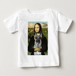Mona Lisa - German Shepherd 12 Baby T-Shirt