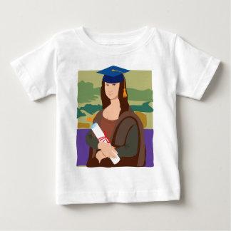 Mona Lisa Graduate Baby T-Shirt
