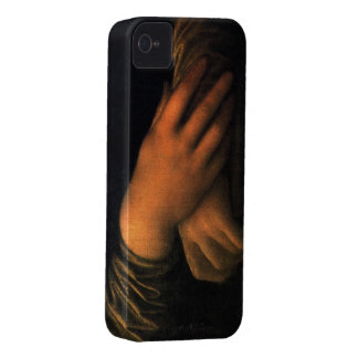 Mona Lisa - hands Case-Mate iPhone 4 Case