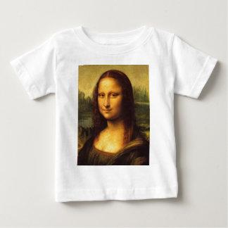 Mona Lisa Head Detail - Leonardo Da Vinci Baby T-Shirt