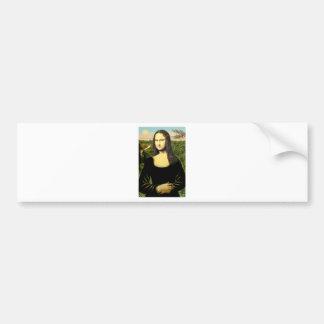 Mona Lisa - insert a pet (#2) Bumper Sticker