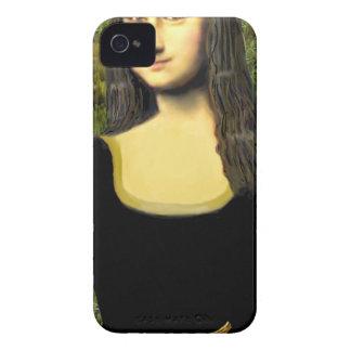 Mona Lisa - insert a pet (#2) Case-Mate iPhone 4 Case