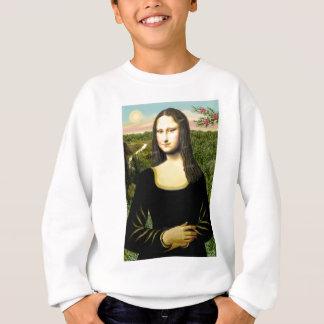 Mona Lisa - insert a pet (#2) Sweatshirt
