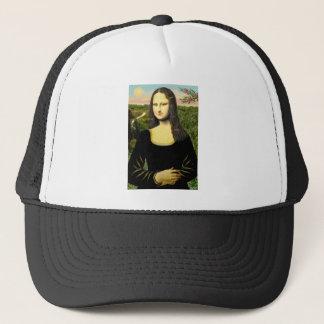 Mona Lisa - insert a pet (#2) Trucker Hat