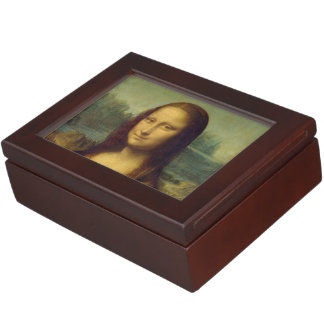 Mona Lisa Keepsake Box