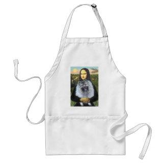 Mona Lisa - Keeshond (F) Standard Apron