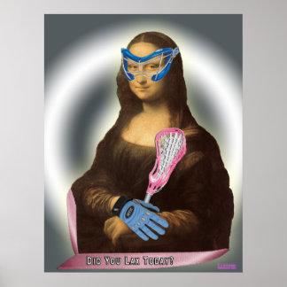 Mona Lisa Laxster Poster