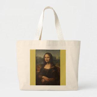 Mona Lisa ... Leonardo da Vinci ~ 1503-1517 Large Tote Bag
