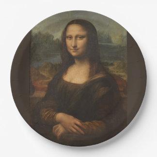 Mona Lisa ... Leonardo da Vinci ~ 1503-1517 Paper Plate