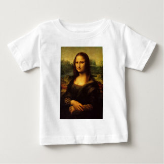Mona Lisa - Leonardo Da Vinci Baby T-Shirt