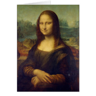 Mona Lisa - Leonardo da Vinci Card