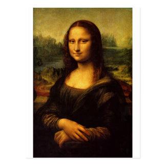 Mona Lisa - Leonardo Da Vinci Postcard