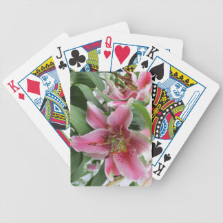 Mona Lisa Lily Playing Cards