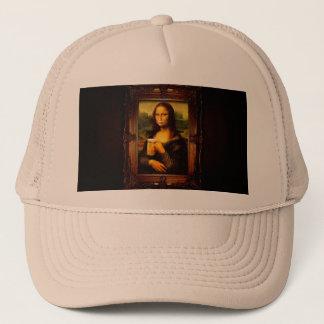 Mona lisa - mona lisa beer  - funny mona lisa-beer trucker hat