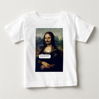 Mona Lisa Needs A Good Waxing Baby T-Shirt