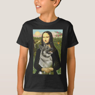 Mona- Lisa - Norwegian Elkhound T-shirts