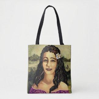 Mona Lisa of the Pacific Tote Bag