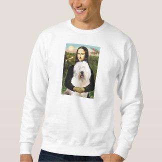 Mona Lisa - Old English 3 Sweatshirt