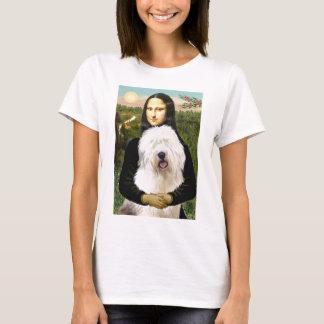 Mona Lisa - Old English 3 T-Shirt