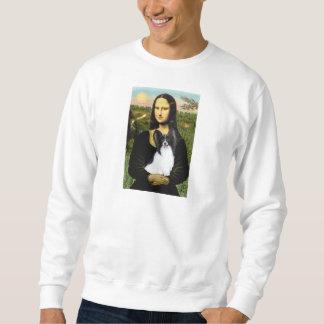 Mona Lisa - Papillon 1 Sweatshirt
