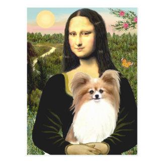 Mona Lisa - Papillon 4 Postcard