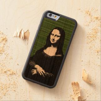 Mona lisa pop art Renaissance Cherry iPhone 6 Bumper Case