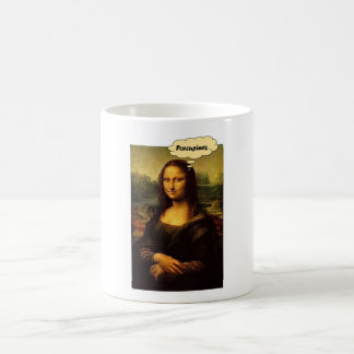 Mona Lisa Porcupines Coffee Mug