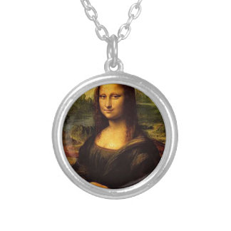 Mona Lisa Porcupines Silver Plated Necklace