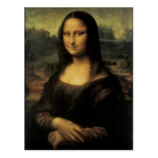 Mona Lisa Postcard