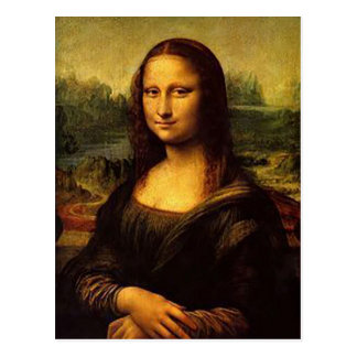 Mona Lisa Postcard