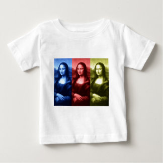 Mona Lisa Primary Colors Baby T-Shirt
