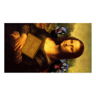 Mona Lisa Protects Turkeys Pack Of Standard Business Cards
