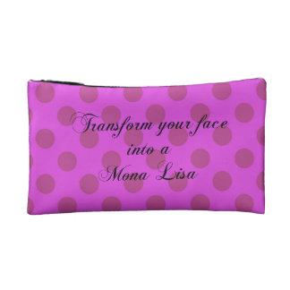 Mona Lisa purple Makeup Bag