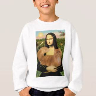 Mona Lisa - Red Persian cat Sweatshirt