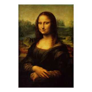 Mona Lisa - Reproduction Art Poster